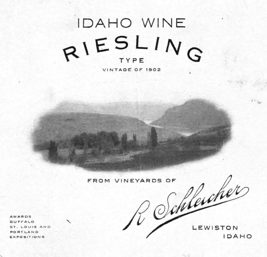 history of wine in the lewis clark valley